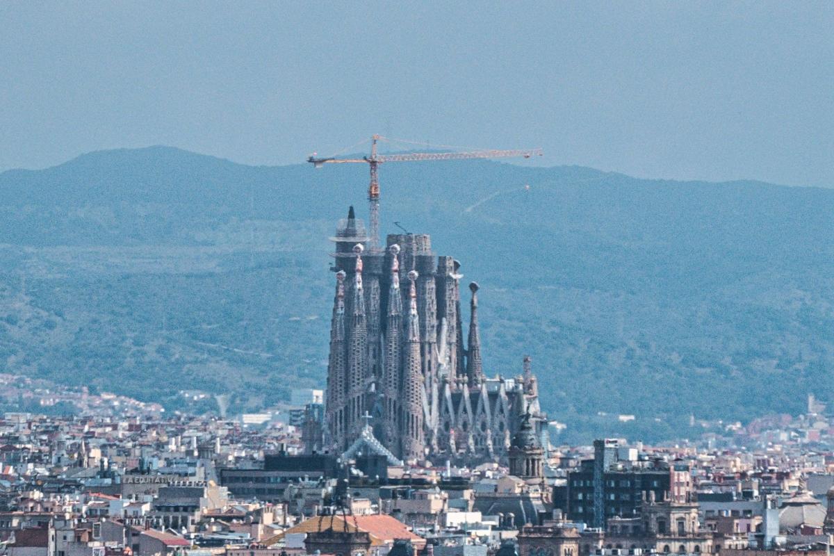 Sagrada Família kirken i Barcelona